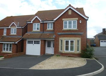 Thumbnail 4 bed detached house to rent in Tyelaw Meadows, Shilbottle, Alnwick