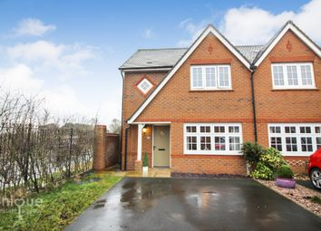 Thumbnail 3 bed semi-detached house for sale in Yew Gardens, Blackpool