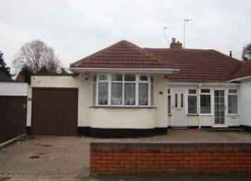 Thumbnail 2 bed detached bungalow to rent in Heathland Avenue, Castle Bromwich, Birmingham