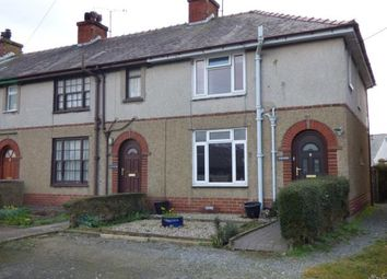 Thumbnail 3 bed end terrace house for sale in Rhestai Rhos, Gaerwen, Anglesey, North Wales