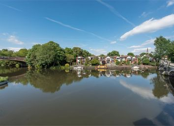 Thumbnail 3 bed terraced house for sale in Portmore Quays, Weybridge, Surrey