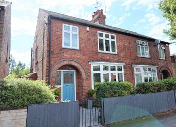 Thumbnail 3 bed semi-detached house for sale in Hampton Road, West Bridgford