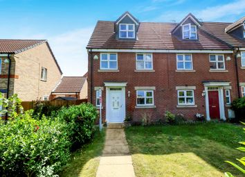 Thumbnail 4 bed end terrace house for sale in Calke Close, Loughborough