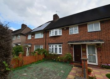 Thumbnail 3 bed terraced house to rent in Fire Brigade Cottages, Pinner Road, Pinner