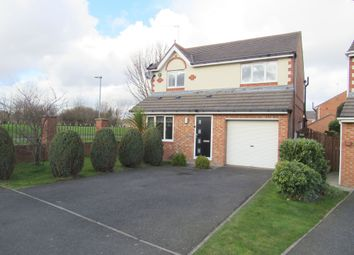 Thumbnail 3 bed detached house to rent in Langton Drive, Cramlington