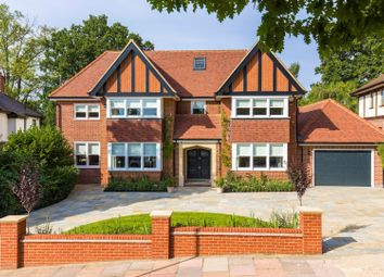 Thumbnail 5 bed detached house for sale in Eversley Crescent, London