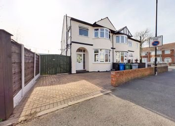 Thumbnail 3 bed semi-detached house for sale in Ravenswood Road, Stretford, Manchester