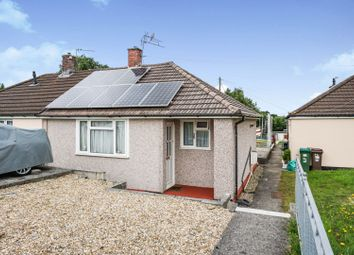 Thumbnail 1 bed semi-detached bungalow for sale in Buckfast Close, Plymouth