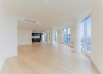 Thumbnail 3 bedroom flat for sale in Charrington Tower Penthouse, Biscayne Avenue, London