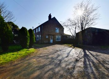 Thumbnail 3 bed semi-detached house for sale in Bullock Road, Terrington St. Clement, King's Lynn
