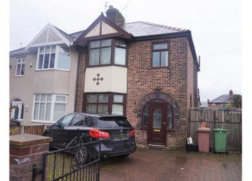 Thumbnail 3 bed semi-detached house for sale in Rainhill Road, Prescot