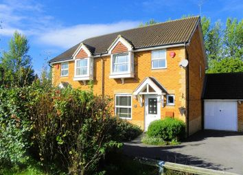 Thumbnail 3 bed semi-detached house to rent in Howell Close, Arborfield
