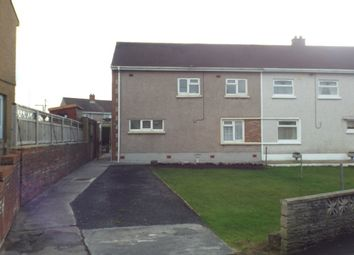 Thumbnail 3 bed semi-detached house to rent in Caeglas, Cross Hands, Llanelli