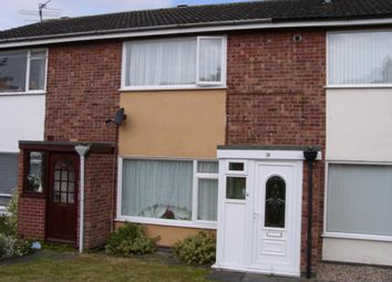 Thumbnail 2 bed terraced house to rent in Oak Drive, Syston