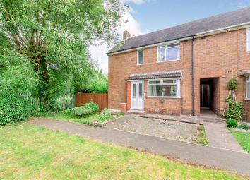 Thumbnail 2 bed end terrace house for sale in Barns Lane, Rushall, Walsall