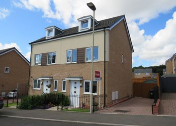 Thumbnail 3 bedroom semi-detached house for sale in Hackett Drive, Dudley