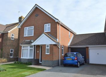 Thumbnail 3 bed link-detached house for sale in Gainsborough Road, Bexhill-On-Sea