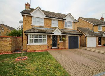 Thumbnail 4 bed detached house for sale in Darracott Close, Wellington Park, Camberley, Surrey