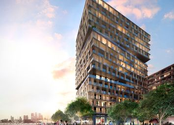 Thumbnail 1 bed flat for sale in Royal Wharf, London