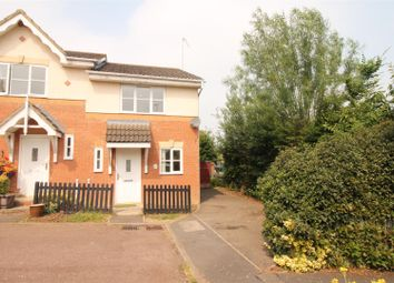 Thumbnail 2 bed semi-detached house for sale in Wheat Close, Daventry