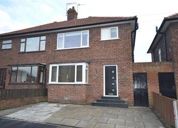 Thumbnail 3 bed semi-detached house for sale in Grange Road, Bridlington