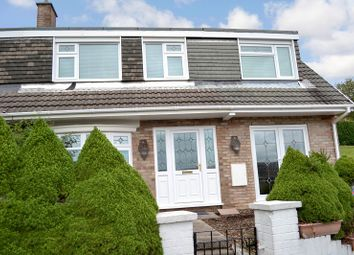 Thumbnail 4 bed semi-detached house for sale in Maes Ty Canol, Baglan, Port Talbot, Neath Port Talbot.