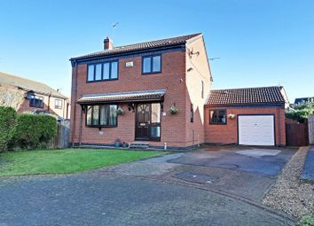 Thumbnail 3 bed detached house for sale in Poplar Close, Burstwick, Hull