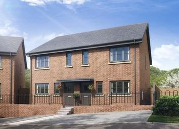 Thumbnail 3 bedroom semi-detached house for sale in Dyrham Place, Oakham, Rutland