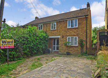 Thumbnail 3 bed semi-detached house for sale in Sandy Lane, Addington, West Malling, Kent