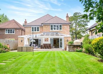 Thumbnail 4 bed detached house for sale in Jefferson Close, Emmer Green, Reading