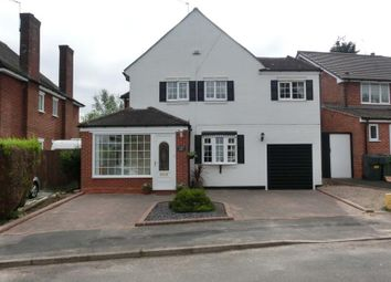 Thumbnail 4 bed detached house for sale in Three Oaks Road, Wythall, Birmingham