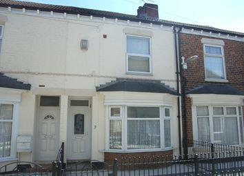 Thumbnail 2 bed terraced house to rent in Kingston Villas, Estcourt Street, Hull