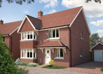 "Thumbnail 4 bed detached house for sale in ""The Canterbury"" at Bridge Road, Bursledon, Southampton"