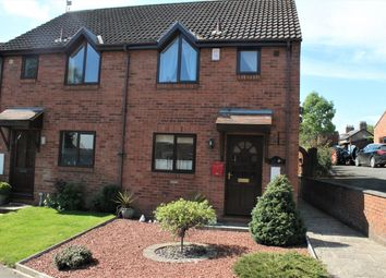 Thumbnail 2 bed end terrace house for sale in Roedeer Cottages, Raskelf, York