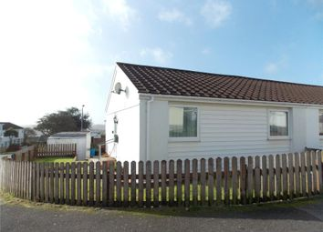 Thumbnail 2 bed semi-detached bungalow for sale in Trenarren View, St. Austell, Cornwall