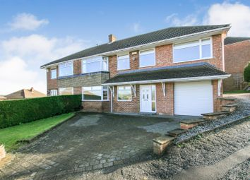 Thumbnail 4 bed semi-detached house for sale in Highfields Road, Dronfield, Derbyshire