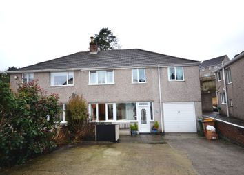 Thumbnail 5 bed semi-detached house for sale in The Dell, Plympton, Plymouth