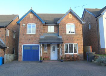 Thumbnail 4 bed detached house for sale in Kirkharle Drive, Pegswood, Morpeth