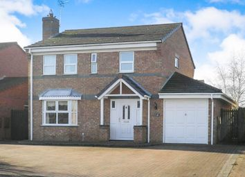Thumbnail 4 bedroom detached house for sale in Rookery Avenue, Sleaford
