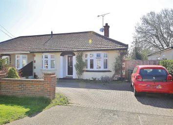 Thumbnail 2 bed semi-detached bungalow for sale in Pembroke Avenue, Corringham, Stanford-Le-Hope