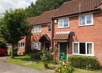 Thumbnail 2 bedroom terraced house to rent in Marwood Close, Wymondham, Norfolk