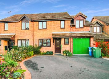 Thumbnail 4 bed semi-detached house for sale in Portesham Way, Poole