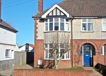 Thumbnail 3 bed semi-detached house to rent in Fairfield Avenue, Felixstowe
