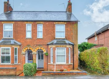 Thumbnail 3 bed semi-detached house for sale in Theydon Avenue, Woburn Sands, Milton Keynes