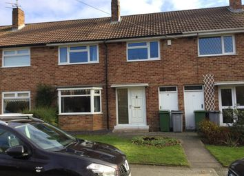 Thumbnail 3 bed terraced house to rent in Delamere Court, Delamere Avenue, Eastham, Wirral