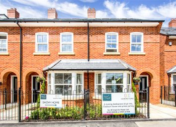 Thumbnail 3 bed end terrace house for sale in Signal Walk, Station Approach, Marlow, Buckinghamshire