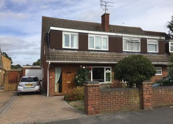 Thumbnail 3 bed semi-detached house to rent in Highbury Road, Tilehurst, Reading