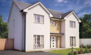 Thumbnail 5 bed detached house for sale in Annick Gardens, Perceton, Middleton Road, Irvine