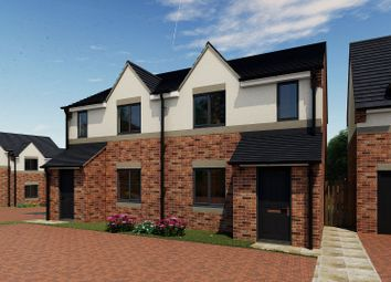 Thumbnail 3 bedroom semi-detached house for sale in Rear Of 239 Sandy Lane, Worksop, Nottinghamshire