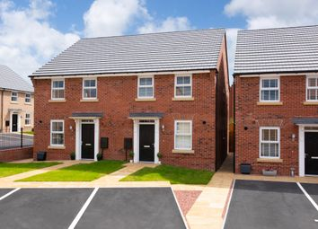 "Thumbnail 3 bed semi-detached house for sale in ""Ashurst"" at Bridlington Road, Stamford Bridge, York"